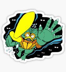 The Henchman Sticker