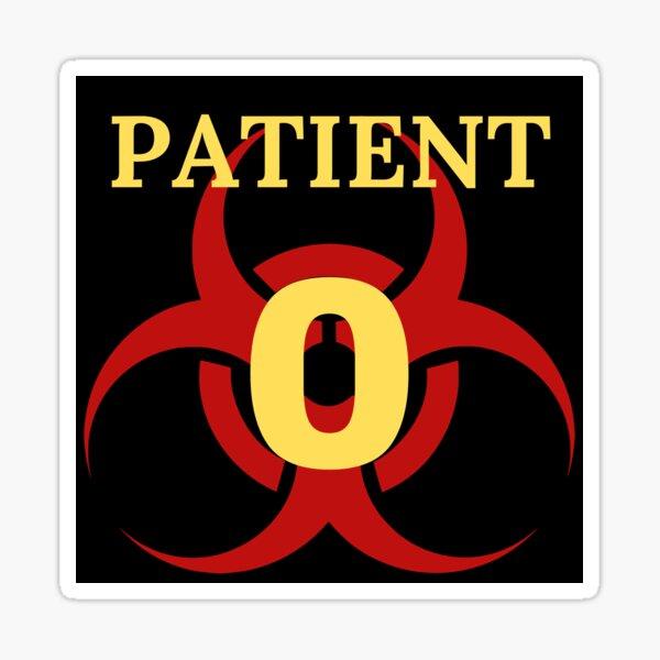 Patient 0 Sticker