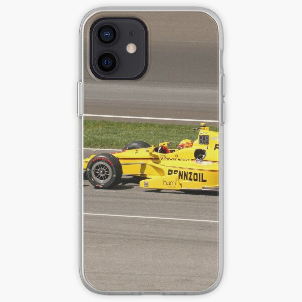 Helio Castroneves at Indy  iPhone Soft Case