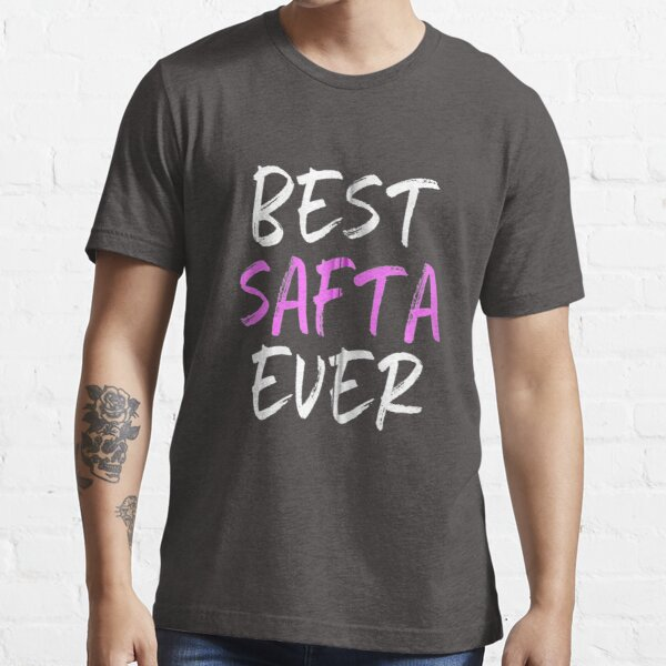 Best Safta Ever Cool Funny Mothers Day Essential T-Shirt