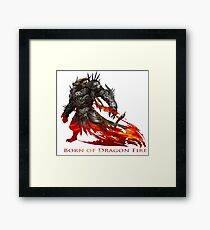 Guild Wars 2 - Born of Dragon Fire Framed Print