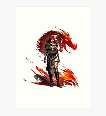 Guild Wars 2 - Nord Woman Art Print