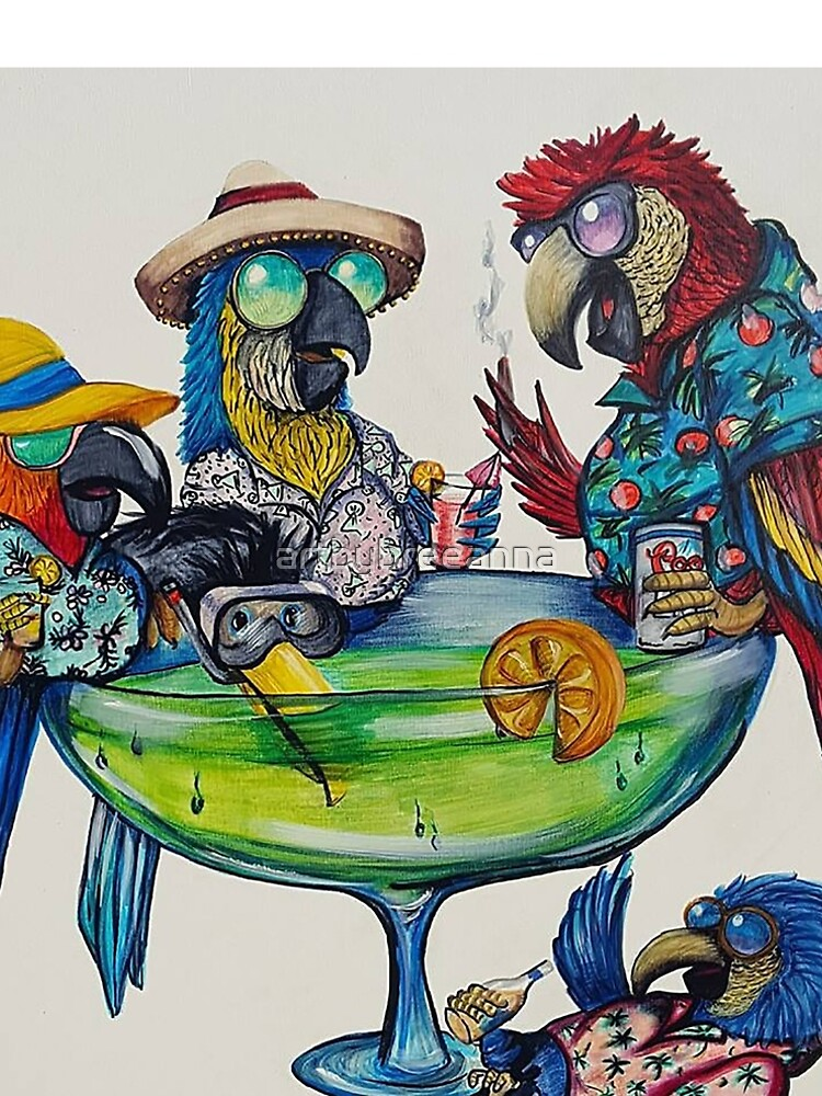 Welcome to Parrotise by artbybreeanna