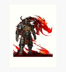 Guild Wars 2 - Nord Man Art Print