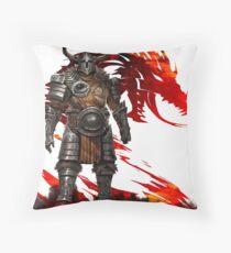 Guild Wars 2 - Nord Man Throw Pillow