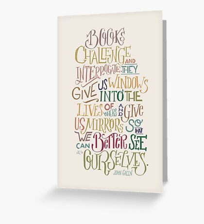 Challenge and Interrogate Greeting Card