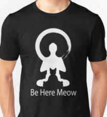 Yoga Meow Enso Zen Circle of Enlightenment, Meditation, Buddha, Buddhism, Japan T-Shirt