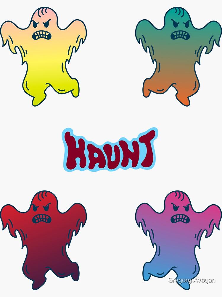 Ghosts haunt in packs! by G-Avoyan
