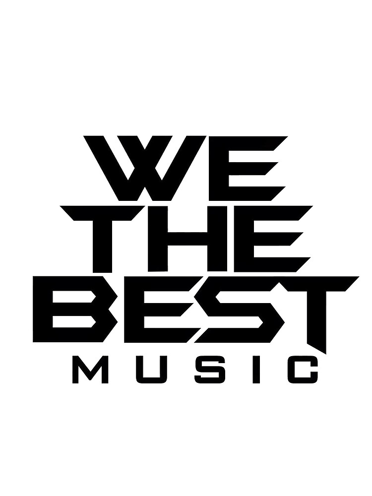 We The Best Music Logo by v0guelightz