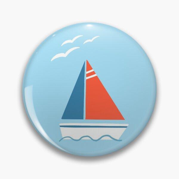 Sailing and seagulls  Pin