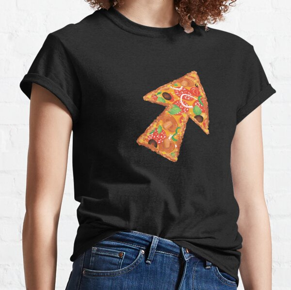 Pizza cursor. For developers, engineeers, geeks and nerds. Classic T-Shirt