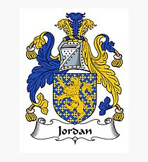 Jordanien Wappen / Jordanien Familienwappen Fotodruck