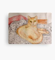 Blink Cat Canvas Print