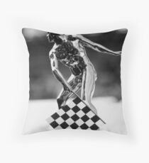 Top of the Borg-Warner Trophy Throw Pillow
