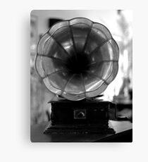 Gramophone Canvas Print