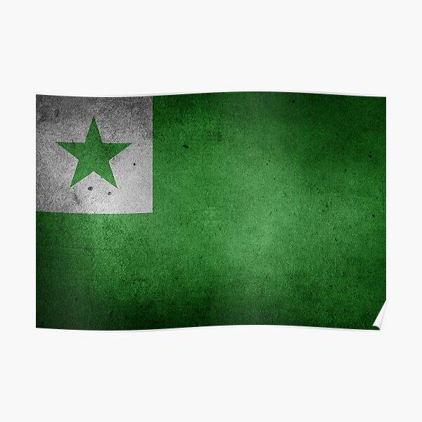 Esperanto Flago Poster