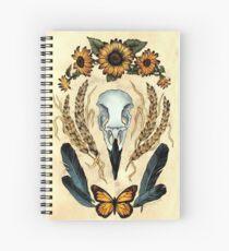 Monarchs & Magpies Spiral Notebook