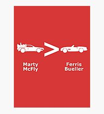 McFly > Bueller Photographic Print
