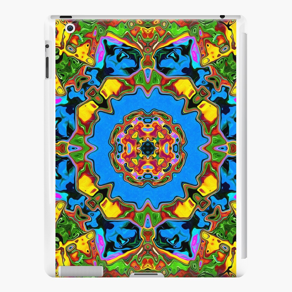 Abstract Balance of Color iPad Cases & Skins