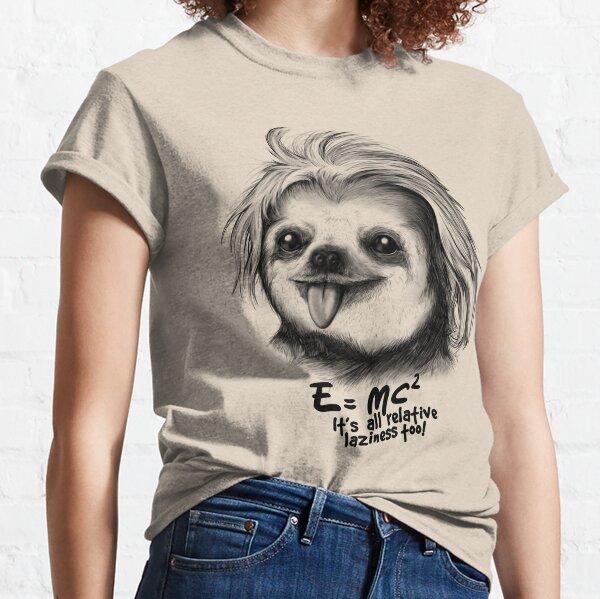 Sloth Einstein Classic T-Shirt