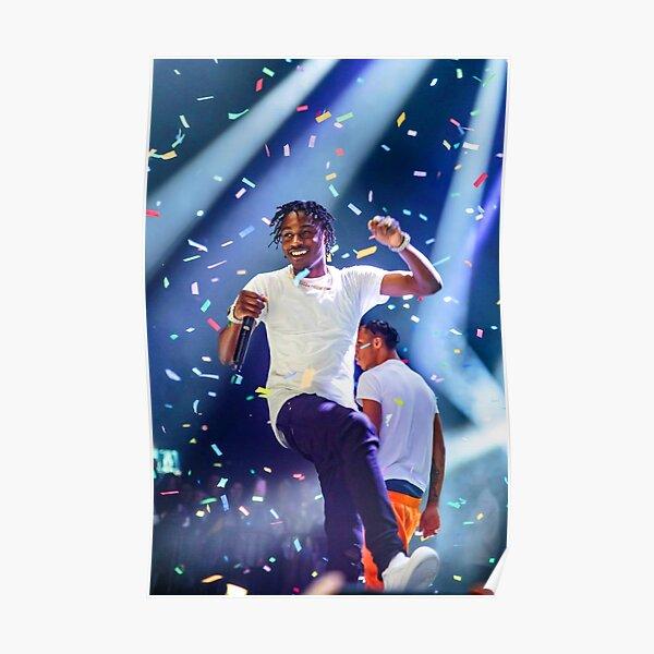 Lil Tjay Concert Jump Poster