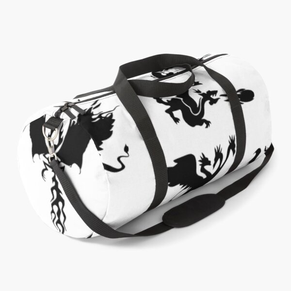 Mystical Fantasy Dragon and Phoenix Duffle Bag