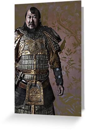 Kublai Khan by yunnn