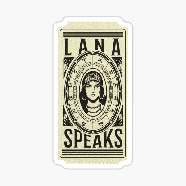 Lana Fortune Teller Ticket Sticker