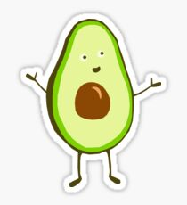 Mr Avocado Sticker