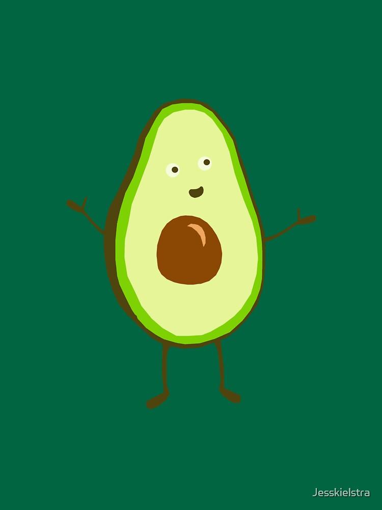 Mr Avocado by Jesskielstra