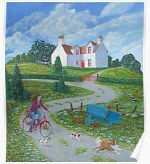 Four Winds Irish Landscape Poster