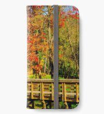 Walking Into Autumn iPhone Wallet/Case/Skin