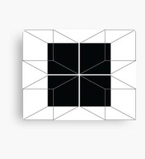 Cube Perspective Canvas Print