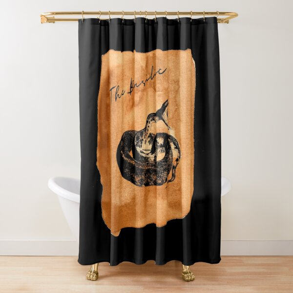 The parchment of the Basilica Shower Curtain
