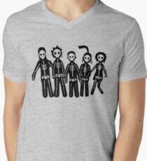 Misfits Lightning Men's V-Neck T-Shirt