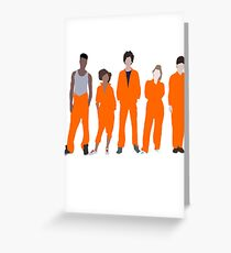 Misfits Greeting Card