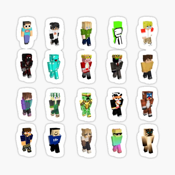 20 Sticker Pack | Dream SMP | Extra Large Available  Sticker