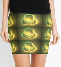 Gold Ellipse Mini Skirt