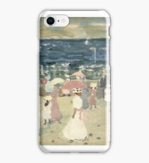 Maurice Brazil Prendergast (American, ). Sunday on the Beach, iPhone Case/Skin