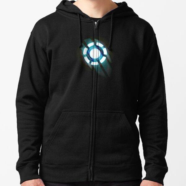 Arc Reactor T-shirt Design Zipped Hoodie