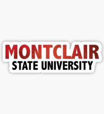 Montclair gifts merchandise redbubble montclair state university sticker negle Images