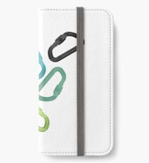 Climing Carabiners iPhone Wallet/Case/Skin