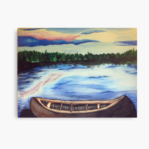 Boundary Waters Canoe Area Scene Two Canvas Print