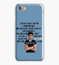 Alec Lightwood and his pie iPhone Case/Skin