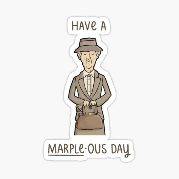 Ich wünsche Ihnen einen schönen Tag Sticker