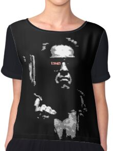 Arnie with Gun Big Graphic Terminator T-shirt