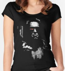 Terminate Women's Fitted Scoop T-Shirt