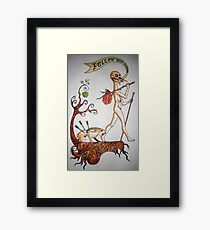 Follow your Madness Framed Print