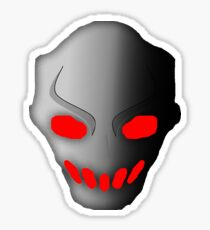 Splatterhouse 3 Terror Mask Red Eyes Sticker