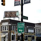 Detroit's Eastern Market Sign by VMMGLLC